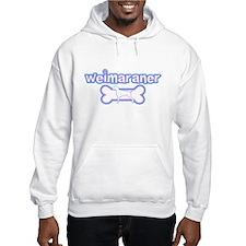 Powderpuff Weimaraner Hoodie