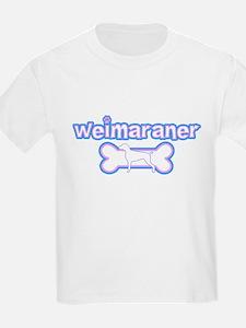 Powderpuff Weimaraner T-Shirt