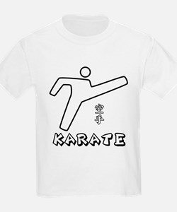 Karate Stick-Man III T-Shirt