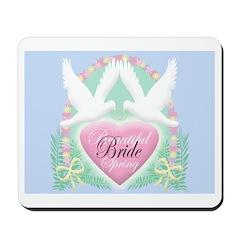 BEAUTIFUL SPRING BRIDE Mousepad