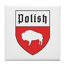 Buffalo Polish Crest Tile Coaster