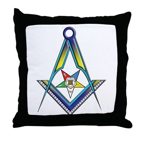 The S&C with the OES Star Throw Pillow