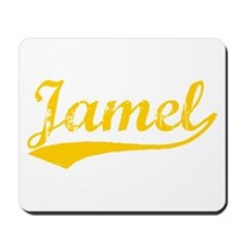 Vintage Jamel (Orange) Mousepad