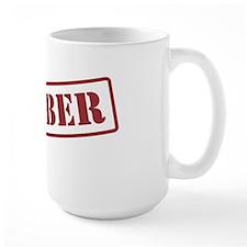 PLUMBER STAMP Mug