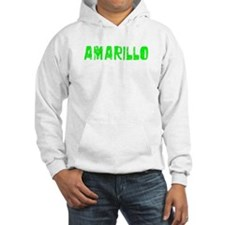 Amarillo Faded (Green) Hoodie