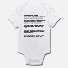 apathy on rights Infant Bodysuit