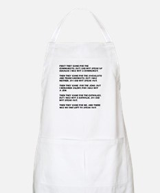 apathy on rights BBQ Apron