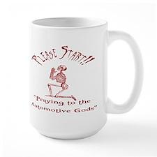 Large Mug-Please Start!!-Auto Gods