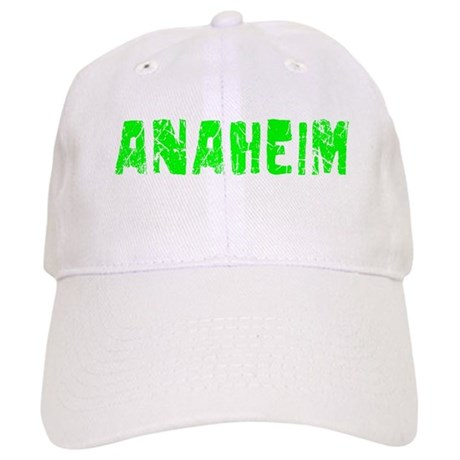 Anaheim Faded (Green) Cap