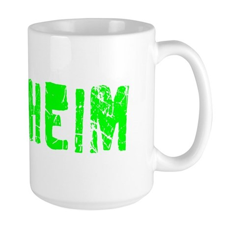 Anaheim Faded (Green) Large Mug