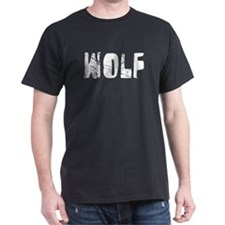 Wolf Faded (Silver) T-Shirt