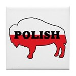 Buffalo Polish Tile Coaster