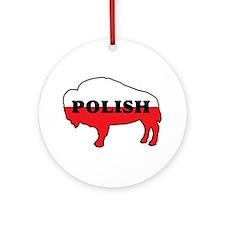 Buffalo Polish Ornament (Round)