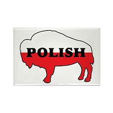 Buffalo Polish Rectangle Magnet