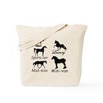 Horse Cars Tote Bag