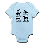 Horse Cars Infant Bodysuit