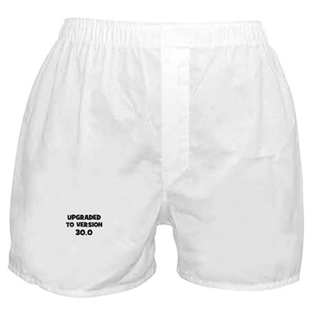 Upgraded to Version 30.0 Boxer Shorts