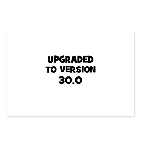 Upgraded to Version 30.0 Postcards (Package of 8)