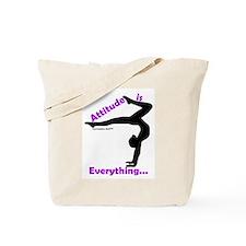 Gymnastics Tote Bag - Attitude