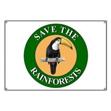Save Rainforests Banner