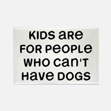 Kids Dogs Rectangle Magnet