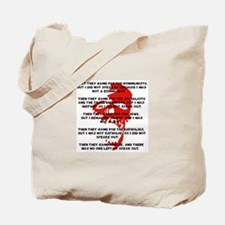 human rights apathy Tote Bag