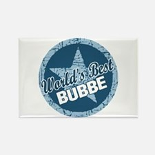 Worlds Best Bubbe Rectangle Magnet