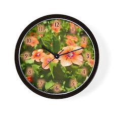 Scarlet Pimpernel Wall Clock