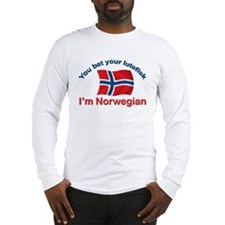 Norwegian Lutefisk Long Sleeve T-Shirt