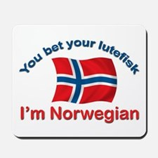 Norwegian Lutefisk Mousepad
