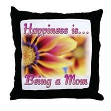 Mothers Day Happiness Throw Pillow