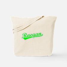 Retro Raegan (Green) Tote Bag
