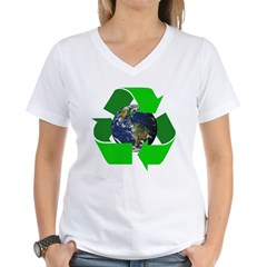 Recycle Earth Environment Symbol (Front) Shirt