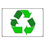 Recycle Environment Symbol Banner
