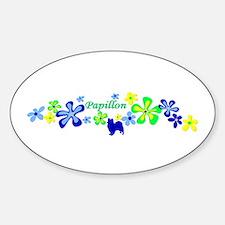 Papillon Sticker (Oval)