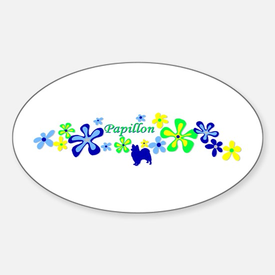 Papillon Sticker (Oval)