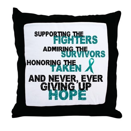 Fighters Survivors Taken 3 Throw Pillow