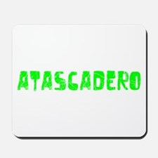 Atascadero Faded (Green) Mousepad