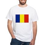 Armenia Flag White T-Shirt