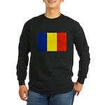 Armenia Flag Long Sleeve Dark T-Shirt