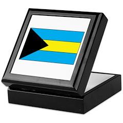 Bahamanian Flag Keepsake Box
