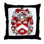 Claxton Family Crest Throw Pillow