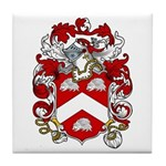 Claxton Family Crest Tile Coaster