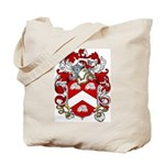 Claxton Family Crest Tote Bag