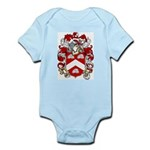 Claxton Family Crest Infant Creeper