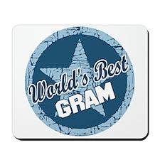 Worlds Best Gram Mousepad