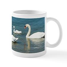 Swan Family Mug