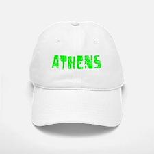 Athens Faded (Green) Baseball Baseball Cap