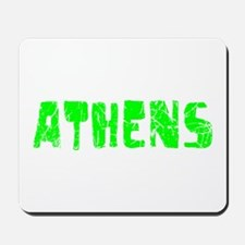 Athens Faded (Green) Mousepad
