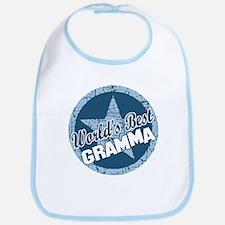 Worlds Best Gramma Bib